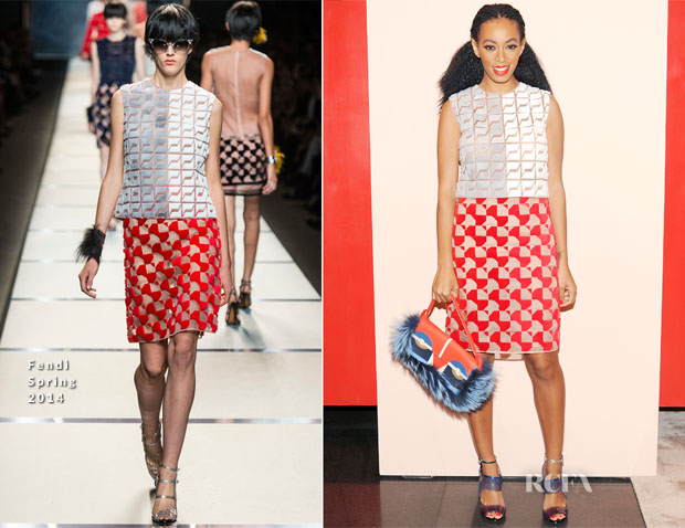 Solange Knowles In Fendi - Fendi Buggies Launch Event