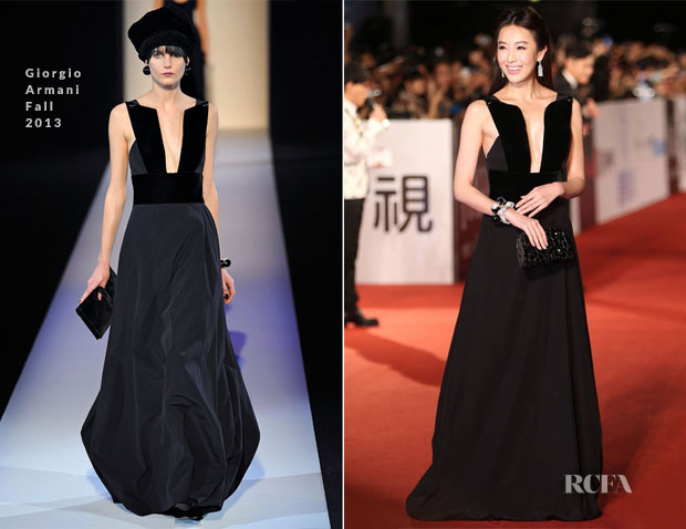 Sonia Sui In Giorgio Armani - 50th Golden Horse Awards