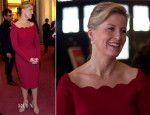 Sophie, Countess of Wessex In Valentino - 'Doctor Who' 50th Anniversary Celebration