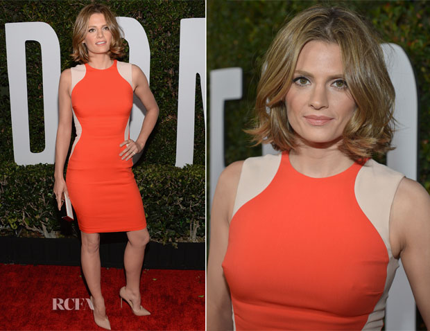 Stana Katic In Stella McCartney - 'Mandela Long Walk To Freedom' LA Premiere
