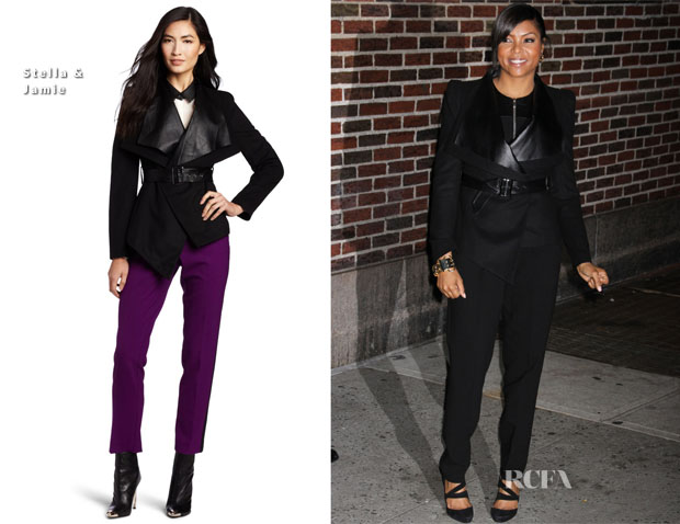 Taraji P Henson In Stella & Jamie - Late Show With David Letterman