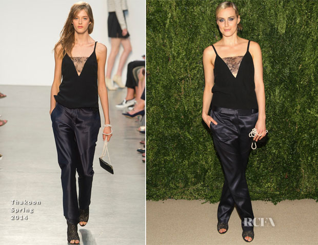 Taylor Schilling In Thakoon - CFDA Vogue 2013 Fashion Fund Finalists