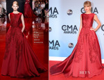Taylor Swift In Elie Saab Couture - 2013 CMA Awards