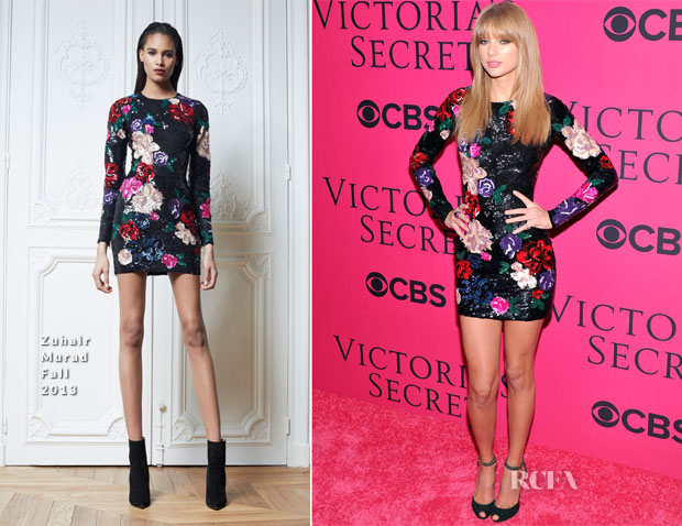 Taylor Swift In Zuhair Murad - 2013 Victoria's Secret Fashion Show