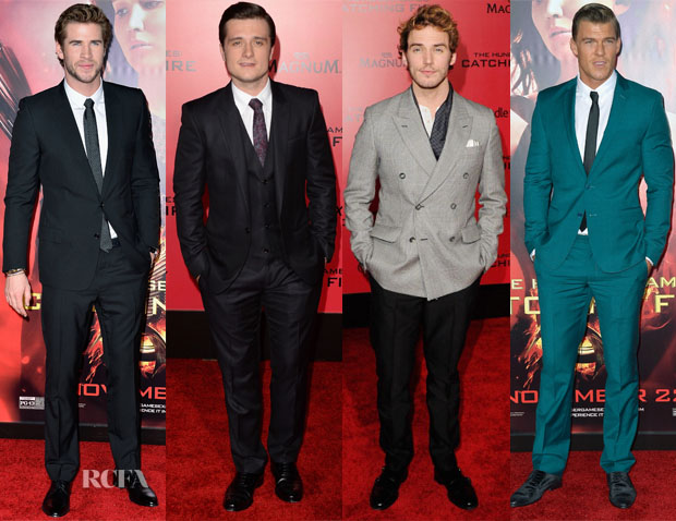 'The Hunger Games Catching Fire' LA Premiere Menswear Roundup