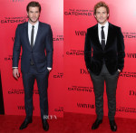 'The Hunger Games: Catching Fire' New York Premiere Menswear Roundup