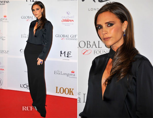 Victoria Beckham In Victoria Beckham - London Global Gift Gala