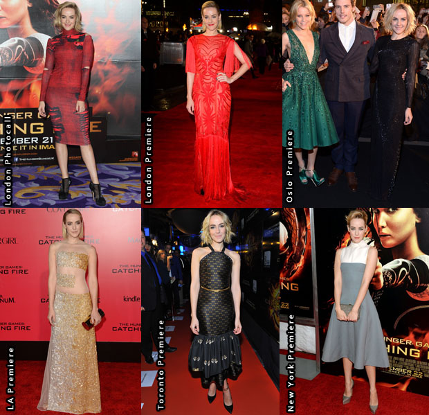 Which Was Your Favourite Jena Malone 'The Hunger Games Catching Fire' Promo Tour Look