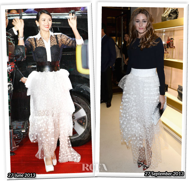 Who Wore Chloé Better Zhang Ziyi or Olivia Palermo