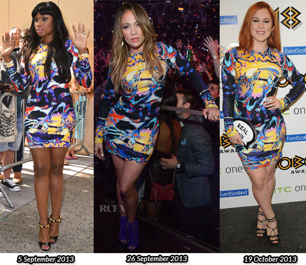 Who Wore Christopher Kane Better Jennifer Hudson, Jennifer Lopez or Katy B