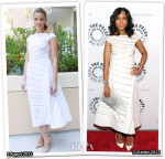 Who Wore J. Mendel Better...Amber Heard or Kerry Washington?