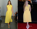 Willow Shields In Emilia Wickstead - 'The Hunger Games: Catching Fire' World Premiere