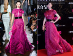 Zhang Jingchu In John Galliano - Cosmo Beauty Awards 2013