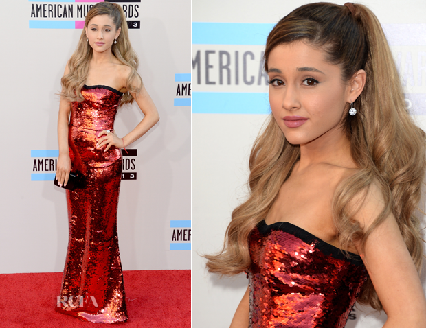 Ariana Grande In Dolce & Gabbana – 2013 American Music Awards