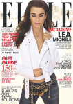 Lea Michele for Elle US December 2013