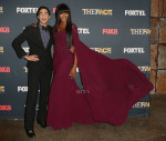 Naomi Campbell in Zac Posen