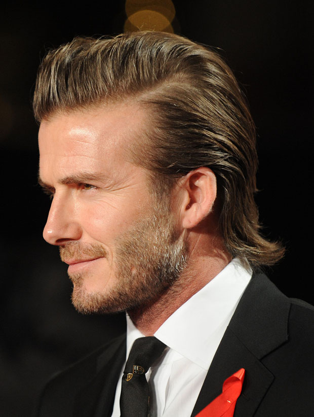 David Beckham in Ralph Lauren
