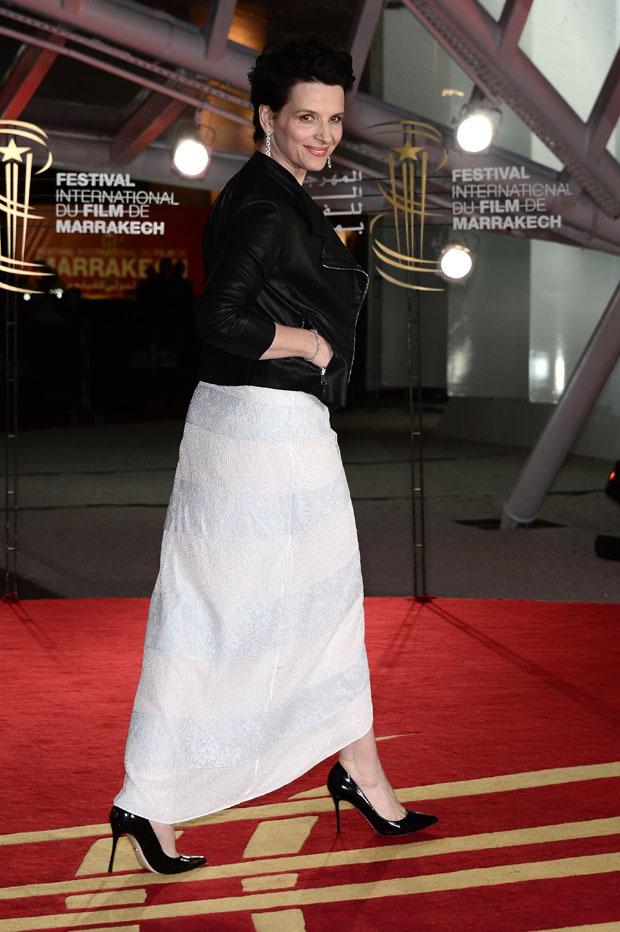 Juliette Binoche in Dior