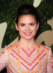 Hayley Atwell in Holly Fulton