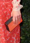 Hayley Atwell's  Anya Hindmarch 'Imperial' clutch