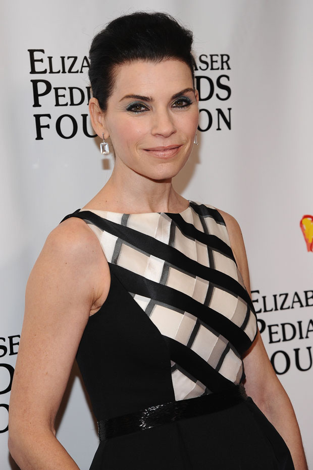 Julianna Margulies in Pamella Roland