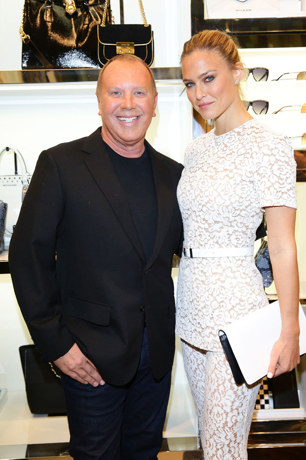 Bar Refaeli in Michael Kors