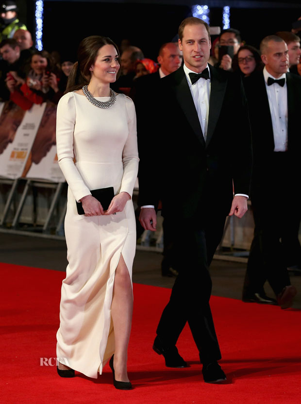 Catherine, Duchess of Cambridge in Roland Mouret