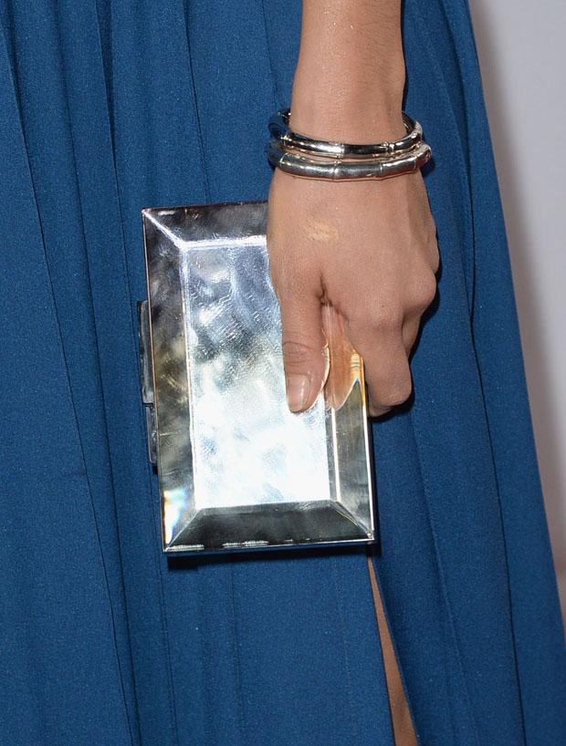 Nina Dobrev's Rauwolf clutch