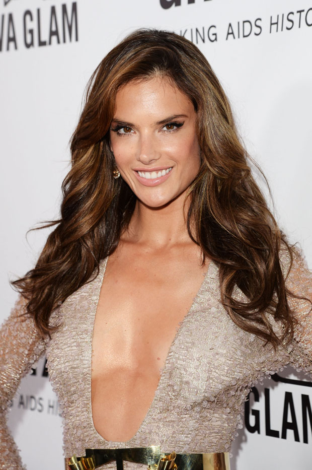 Alessandra Ambrosio in Hugo Boss
