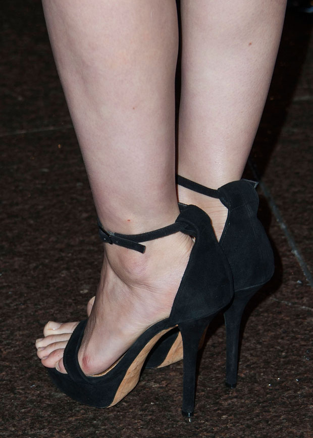 Rooney Mara's Givenchy sandals