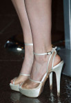 Kate Mara's Charlotte Olympia shoes