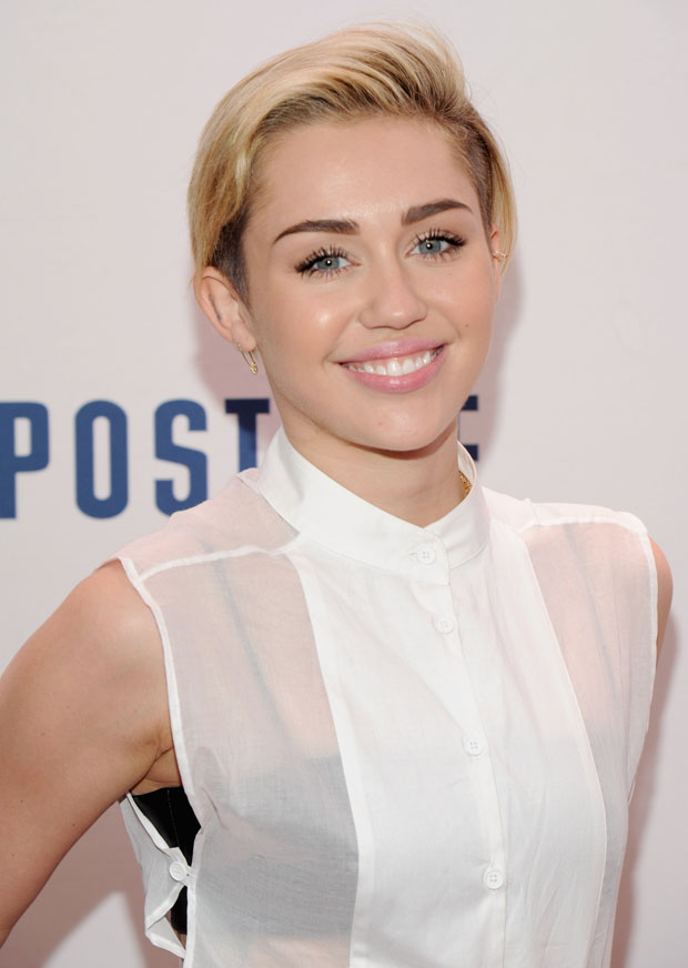 Miley Cyrus in Maison Martin Margiela