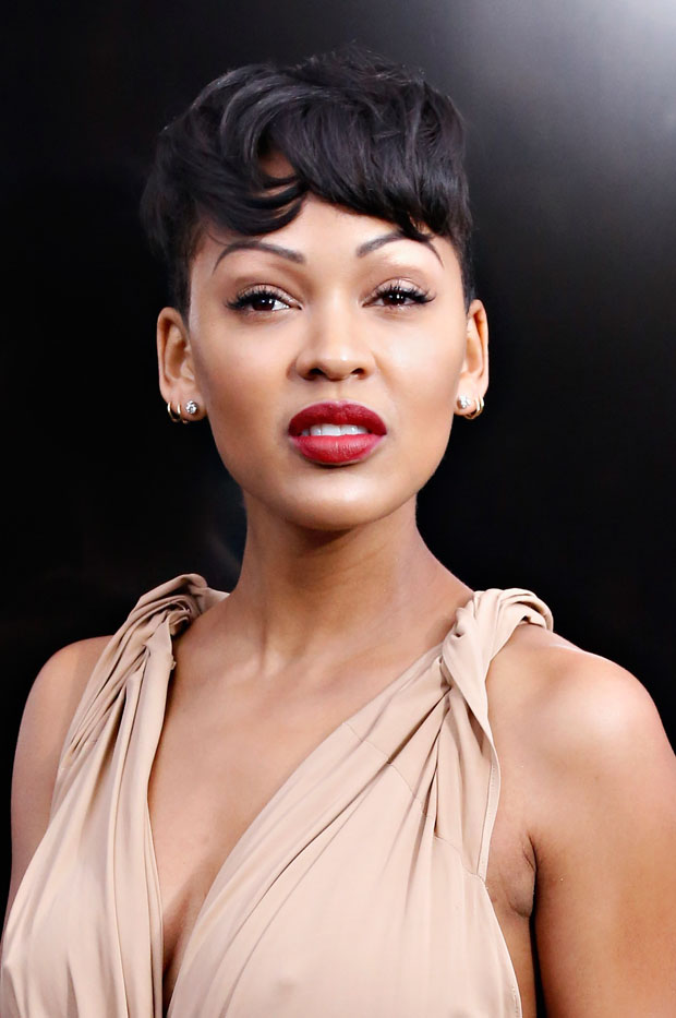 Meagan Good in Donna Karan