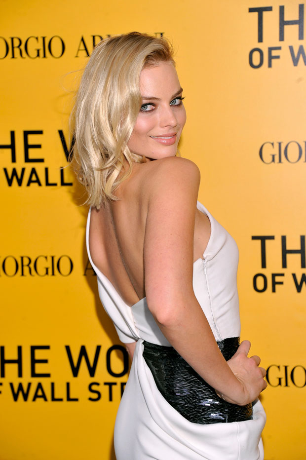 Margot Robbie in Armani Privè