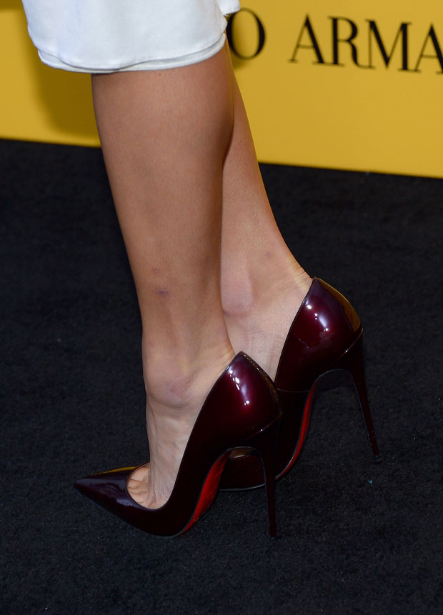 Jamie Chung's Christian Louboutin 'So Kate' pumps