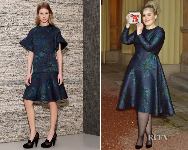 Adele In Stella McCartney - Investitures Ceremony