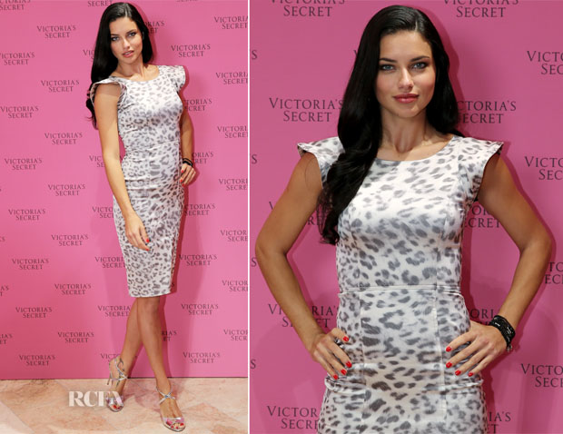 Adriana Lima In Alexis - The 'Victoria's Secret Fantasy Bra' Dubai Showcase