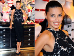 Adriana Lima In Lover - Victoria's Secret UK Photocall