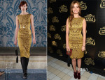 Ahna O'Reilly In Tory Burch - Stella Artois' Crystal Chalice Launch Event