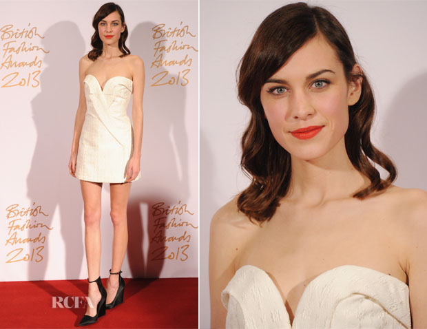 Alexa Chung In Stella McCartney - British Fashion Awards 2013