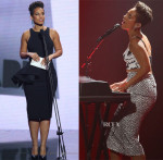 Alicia Keys In Toni Maticevski & Manning Cartell - ARIA Awards 2013
