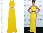 Alicia Keys' Stella McCartney Sleeveless Gown