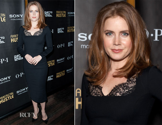 Amy Adams In Altuzarra - 'American Hustle' Screening After Party