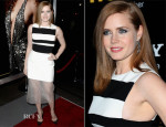 Amy Adams In David Koma  - 'American Hustle' LA Screening