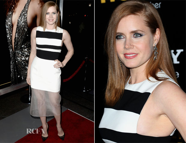 Amy Adams In David Koma  - 'American Hustle' LA Premiere