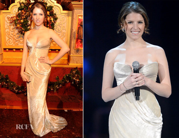 Anna Kendrick In J Mendel - TNT's Christmas in Washington 2013