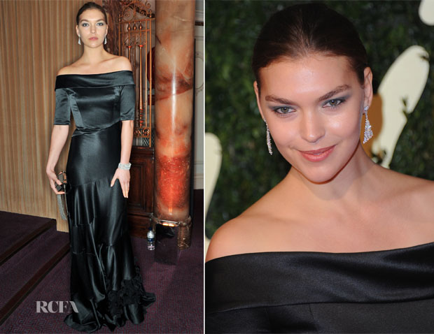 Arizona Muse In Louis Vuitton - British Fashion Awards 2013