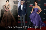 Best Dressed Of The Week - Xu Qing In Zuhair Murad Couture, Juliette Lewis In Monique Lhuillier & James Marsden In Dolce & Gabbana