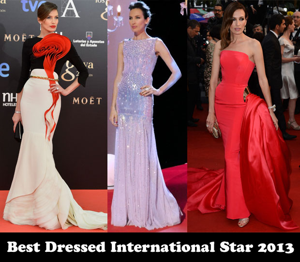 Best Dressed International Star 2013 – Nieves Alvarez