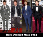 Best Dressed Man of The Year 2013 - Eddie Redmayne